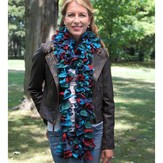 Knitting Fever Flounce Scarf (Free)
