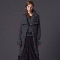Anise Shawl-Collar Coat Kit