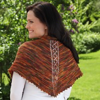 325 Indian Summer Shawl