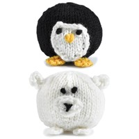 347 Knit Penguins and Polar Bears