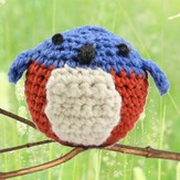 Valley Yarns 401 Crocheted Bluebird Kit (Free Pattern)