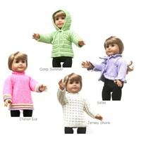 "18"" Doll Sweaters: Collection One"