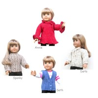 "18"" Doll Sweaters, Collection Two"