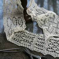 The History, Methods and Styles of Lace Knitting with Franklin Habit