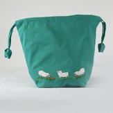 Lantern Moon Meadow Pouch Project Bag