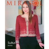 Mirasol 5082 Decorative Border Cropped Cardigan