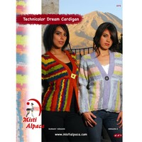 1075 Technicolor Dream Cardigan PDF