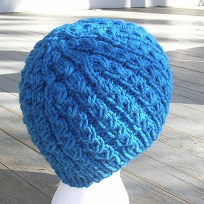 Free Crochet Hat Patterns With Chunky Yarn : Nina Machlin Dayton Chunky Dean Street Hat (Free) at WEBS ...
