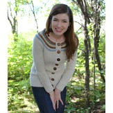 Never Not Knitting Playful Stripes Cardigan (Adult) PDF