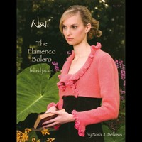 1301 The Flamenco Bolero Felted Jacket