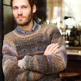 Noro Mans Ribbed Sweater PDF