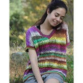 Noro Ladies' V-Neck Sleeveless Sweater PDF