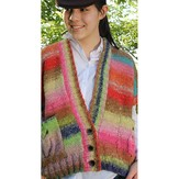 Noro Dropped-Shoulder Cardi (Akita) PDF