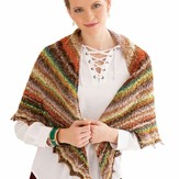 Noro Hybrid Triangular Shawl PDF