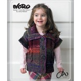 Noro 07 Short Sleeved Cardigan PDF - Designer Mini Knits 4
