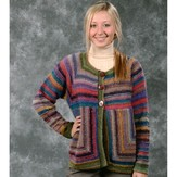 Plymouth Yarn 1676 Boku Mitered Jacket