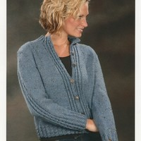 1875 Mock Cable Cardigan