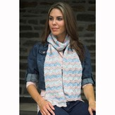 Plymouth Yarn 2530 Chevron Stripe Scarf
