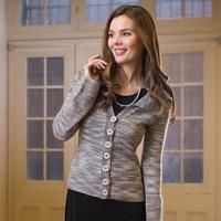 2597 Woman's Fitted Cardigan