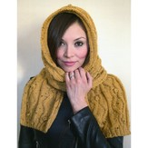 Plymouth Yarn 2867 Hooded Scarf