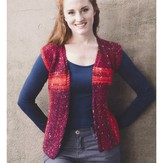 Plymouth Yarn 2965 Women's Vest