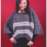 Plymouth Yarn 3003 Adult Crochet Poncho