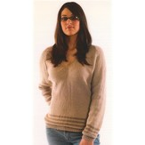 Plymouth Yarn N055 V-neck Pullover