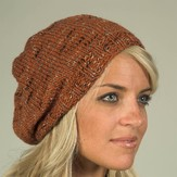 Plymouth Yarn F346 Coffee Beenz Hat (Free)