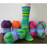 Plymouth Yarn F533 Neon Now Basic Socks (Free)