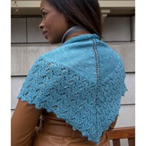 Plymouth Yarn F619 Linaza Shawl  (Free)