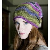 Plymouth Yarn  F681 Chevron Hat (Free)