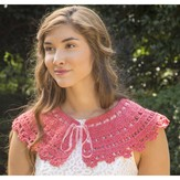 Premier Yarns Coral Shine Collar (Free)