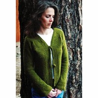 241 Neck Down Shaped Cardigan