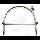 "Lacis Snap Purse Frame, 6"" with Loops"
