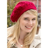 Red Heart Bridgette Beret (Free)