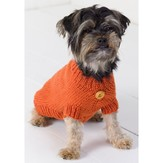 Red Heart Dog Sweater (Free)