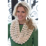 Red Heart Infinite Shells Cowl (Free)