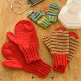 Red Heart Mittens for All (Free)
