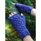 Reywa Fibers Intertwined Fingerless Mitts (Free)