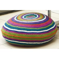 Bright Circle Stripe Floor Cushion (Free)