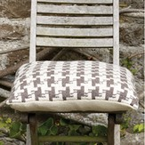 Rowan Houndstooth Cushion (Free)