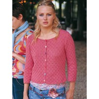 Martha (Eyelet or Beaded Cardigan) PDF