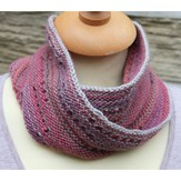 Rowan Two Color Mobius Cowl