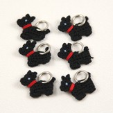 Lantern Moon Scotty Dog Stitch Markers