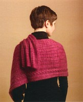 Cabled Rib Wrap
