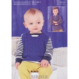 Sirdar 4524 Tank and Sweater