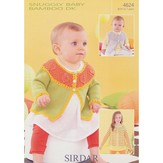 Sirdar 4624 Round Neck Cardies