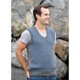 Skacel Classic Checked Vest (Free)