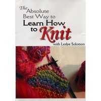 Absolute Best Way to Learn How to Knit DVD