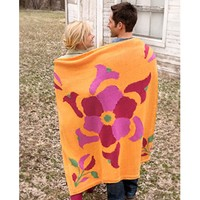 9512 Flower Power Throw